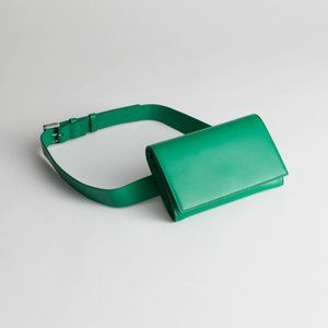 Leather Beltbag - Green - & Other Stories